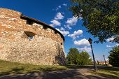 stock photo of puffy  - Medieval bastion  - JPG