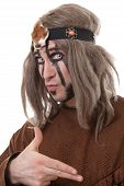 stock photo of witch-doctor  - Portrait of middle - JPG