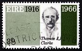 Postage Stamp Ireland 1966 Thomas James Clarke, Revolutionary