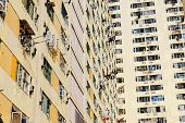 pic of public housing  - Government public house residential buildings in Hong Kong - JPG