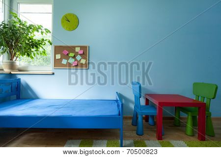 Interior Of Child Room