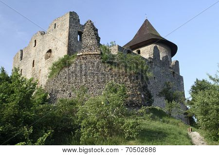 Ruins of the Medieval Castle Somoska