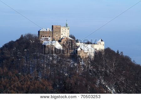 Winter View of the Buchov Castle