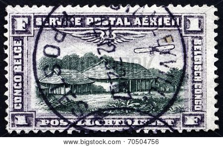 Postage Stamp Belgian Congo 1994 Country Store