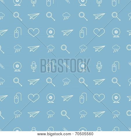 Vector background for blog