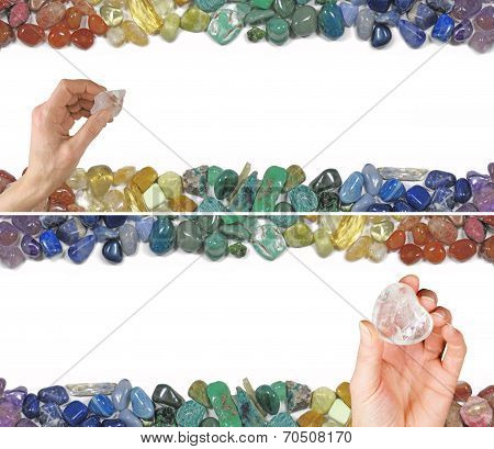 Two Crystal Healing Website Banners