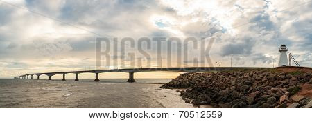 Panorama Of Confederation Bridge