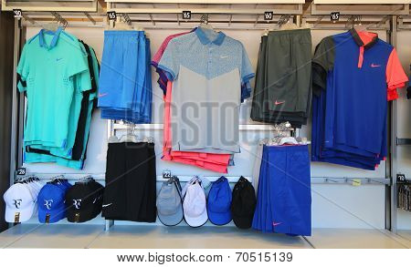 Nike presents new Roger Federer collection  at US Open 2014