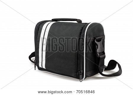 Camera Bag Isolated On White Background