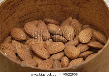 Almonds In The Bowl