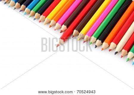 Mix Colored Crayons.