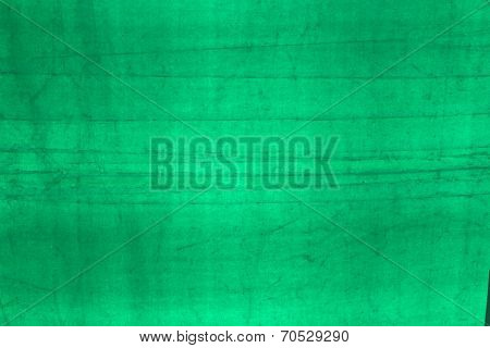 Green Fabric Texture.