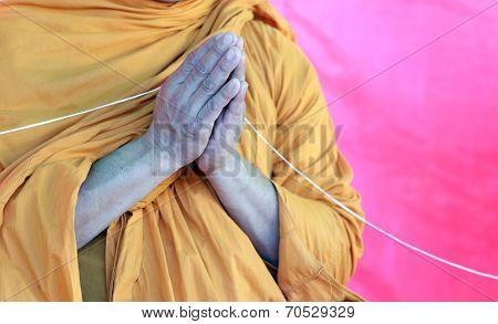 Hands Of Priest.