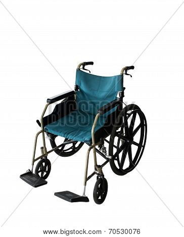 Wheelchair Service In Airport Isolated Background