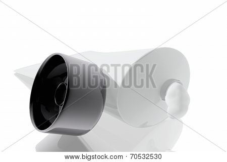 White Acrylic Paint Tube