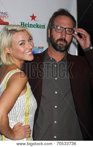 LOS ANGELES - AUG 21:  Erin Darling, Tom Green at the OK! TV Awards Party at Sofiitel L.A. on August 21, 2014 in West Hollywood, CA