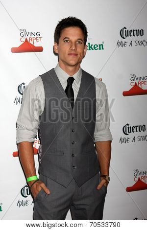 LOS ANGELES - AUG 21:  Mike Manning at the OK! TV Awards Party at Sofiitel L.A. on August 21, 2014 in West Hollywood, CA