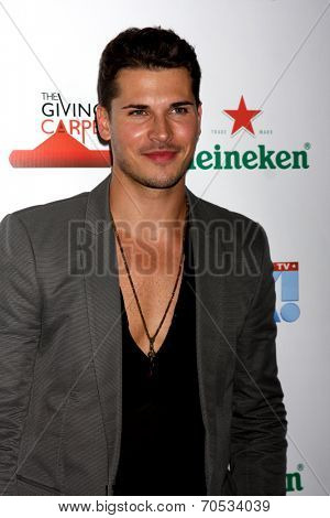 LOS ANGELES - AUG 21:  Gleb Savchenko at the OK! TV Awards Party at Sofiitel L.A. on August 21, 2014 in West Hollywood, CA