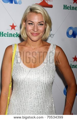 LOS ANGELES - AUG 21:  Erin Darling at the OK! TV Awards Party at Sofiitel L.A. on August 21, 2014 in West Hollywood, CA