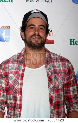 LOS ANGELES - AUG 21:  Adam Korson at the OK! TV Awards Party at Sofiitel L.A. on August 21, 2014 in West Hollywood, CA