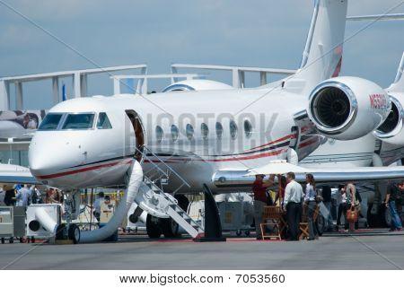 Gulfstream Business Jet At Singapore Airshow