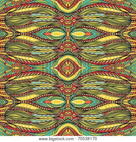 Funky Detailed Tribal Pattern