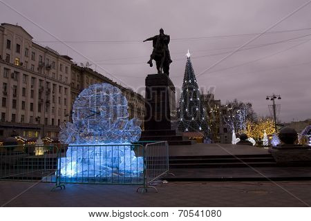 Ice Clock, Moscow