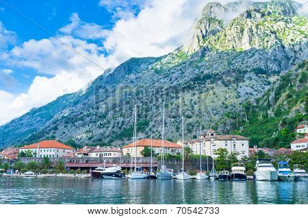 Kotor From The Sea