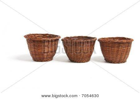 Miniature Wicker Baskets
