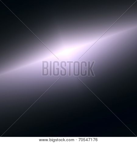Abstract Space View Background - Black Universe