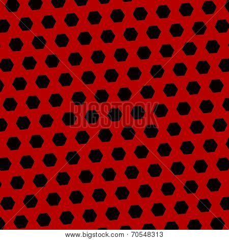 Abstract Black Red Technology Background - Pattern
