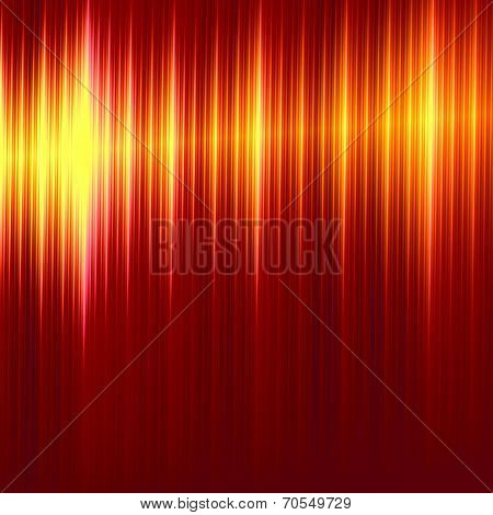Abstract Metallic Red Lines Background - Elegant