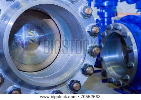 Industrial big dimentions ball valves