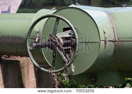 Caliduct Valve Wheel - Heat Pipeline