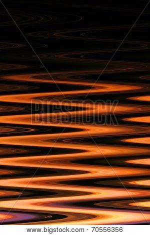 Fire and Flame Background - Weaving Waves of Color