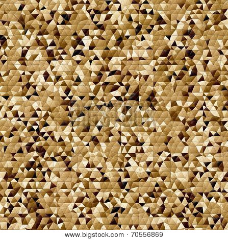 Black And Brown Abstract Mosaic Background