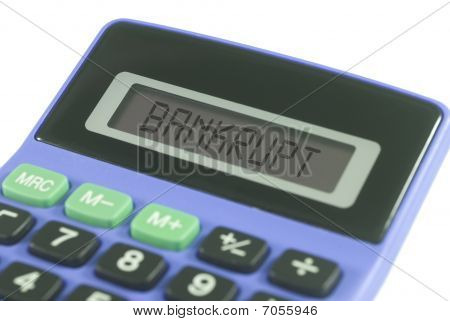 Bankrupt Calculator