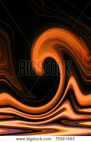 Fire and Flame Background - Heat Wave