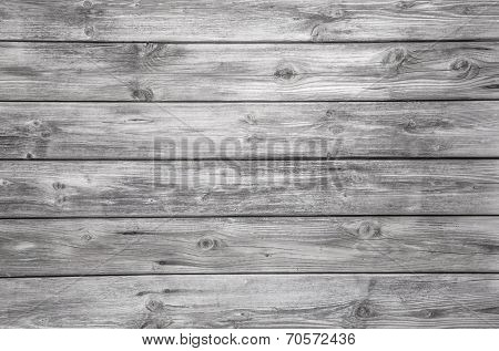 Old Grey Wooden Background - Nobody And Empty.