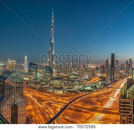 Burj Khalifa the tallest skyscraper in the world