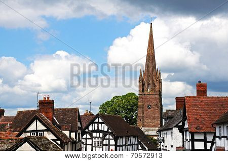 Village centre building, Weobley.