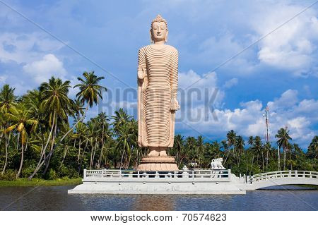 Peraliya Buddha Statue, Tsunami Memorial, Sri Lanka
