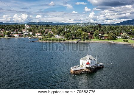 Lighthouse In The Oslofjord