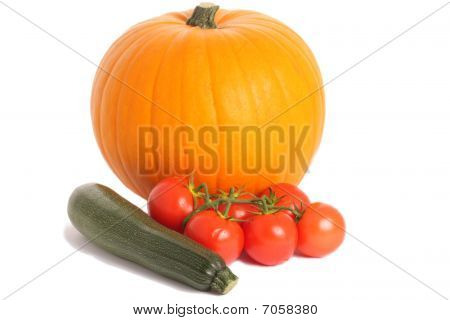 Pumpkin And Other Vegetables