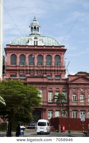 The Red House Parliament Building Port Of Spain Trinidad Tobago