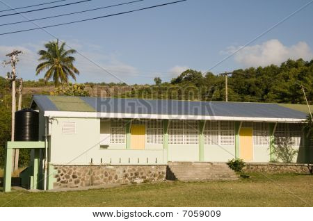 School St. Vincent And The Grenadines Island Of Bequia