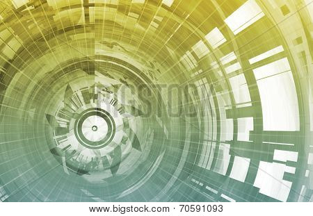Presentation Background for Technology as a Art