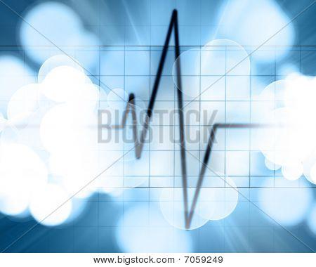 Latidos cardíacos en Monitor