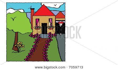The American Dream Illustration