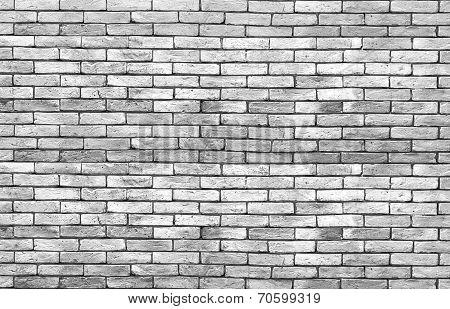 High Resolution Low Key Grunge Brick Wall Background
